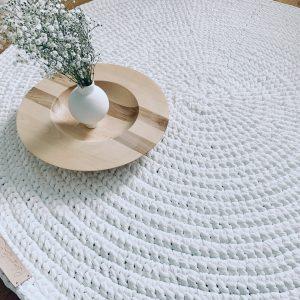Solo-matto valkoinen