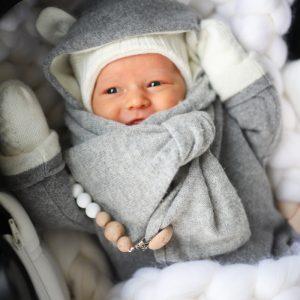 Vauvan merinovilapeitto / unipussi Kuva IG: Mungoanna
